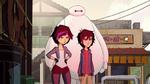 Hiro, Go Go and Baymax