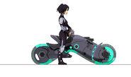 GoGo and bike concept