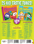 25 Favorite Action and Toddler Songs ad
