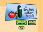Rack Shack and Benny storybook
