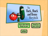 Rack Shack and Benny storybook