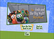 Josh and the Big Wall storybook