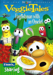 Englishman with an Omelet Front Cover