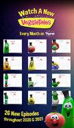 The VeggieTales Show Schedule