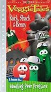 Rack Shack and Benny 2003 VHS without Now Over 40 Minutes of Veggie Tales Fun
