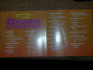 Here's a list of Songs for VeggieTales 25 Favorite Action Songs!