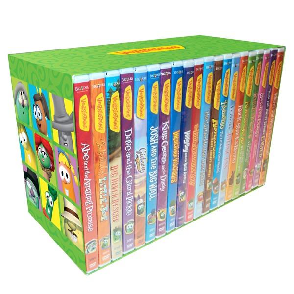 veggietales 20 dvd collection big idea wiki fandom