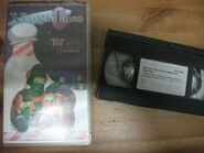 VeggieTales The Toy That Saved Christmas VHS Video