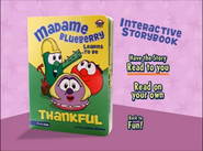 Madame Blueberry learns to be thankful storybook