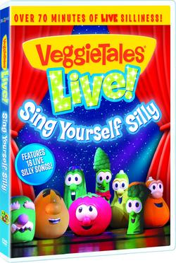 VeggieTalesLiveSingYourselfSillyDVDFrontCover
