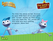 Show's script