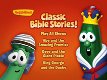 Classic Bible Stories! menu