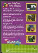 Veggietales where's god when im scared 10th anniversary 2003 dvd back