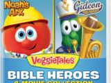 Bible Heroes - 4-Movie Collection (Blue)