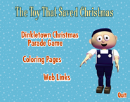 The Toy That Saved Christmas DVD Rom Menu