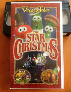 VEGGIE TALES THE STAR OF CHRISTMAS VHS