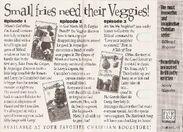 VeggieTunes 95 cassette back