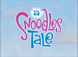 A snoodle's tale title card