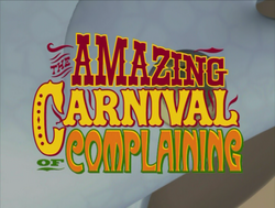 TheAmazingCarnivalofComplainingTitleCard
