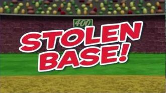 VeggieTales Larry's Stolen Base - MLB Pumper