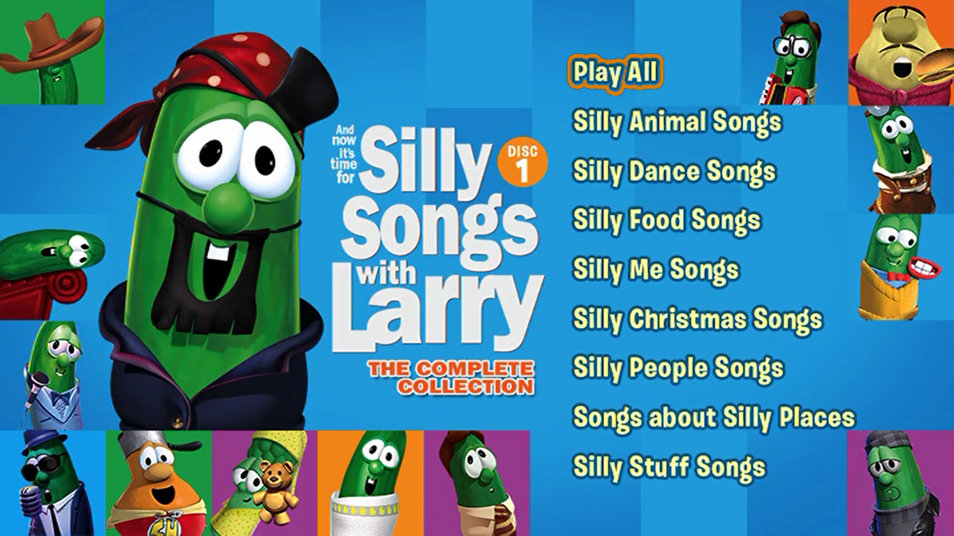 and now its time for silly songs with larry the complete