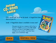 Jonah CD Rom Game Demo