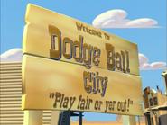 DodgeBallCitySign