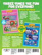Girl Power and Superhero Triple Features Ad