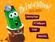 The End of Silliness DVD Rom Menu