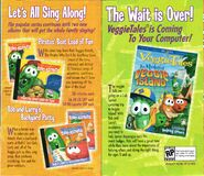 Sing along CD ad and Veggie Island ad