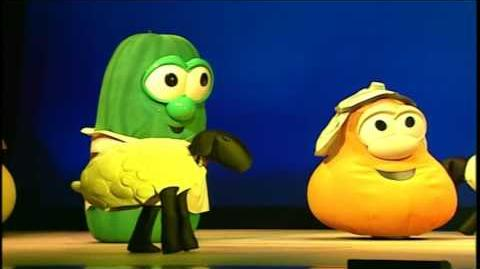 VeggieTales Josh and the Big Wall From Screen to Stage