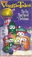 Veggietales The Toy That Saved Christmas 2000 VHS Word Entertainment Print