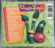 Everland Entertainment preprinted CD Back cover of Big Idea's VeggieTunes includes a list of Songs from the hit videos