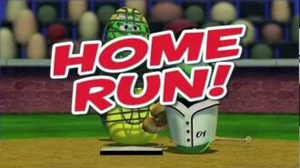VeggieTales Larry's Home Run - MLB Pumper