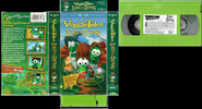 VeggieTales Lord of the Beans VHS Cover