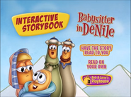 Babysitter in DeNile storybook