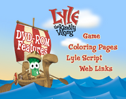 Lyle the Kindly Viking DVD Rom Menu