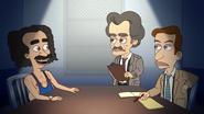 Coach Steve Being Interrogated