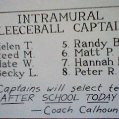 The Fleeceball Captains List