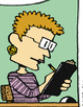Mrs. Shipulski in a color comic strip