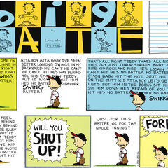 Nate in a Sunday comic strip.