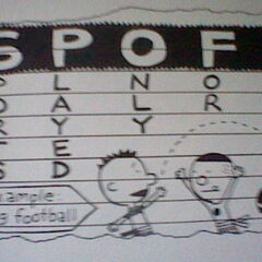 SPOFF=Sports Played Only For Fun