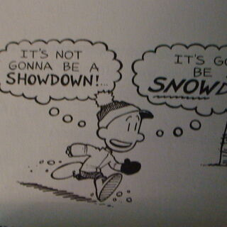 Nate getting the idea for the Snowdown