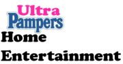 Ultra Pampers Home Entertainment logo