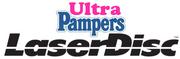 Ultra Pampers Laserdisc logo