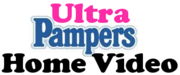 Ultra Pampers Home Video logo