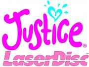 Justice Laserdisc logo