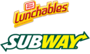 Lunchables Subway 2004 logo