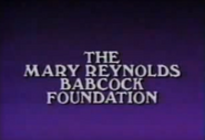 Mary Reynolds Babcock Foundation (1985)
