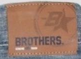 Brothers B star jeans label